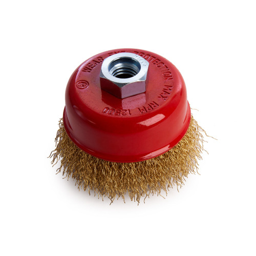 Buy Abracs ABWB07514C Crimped Wire Cup Brush at Toolstop