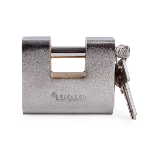 Henry Squire DFAW80 Armoured Warehouse Lock (Branded Defender) 80mm - 1