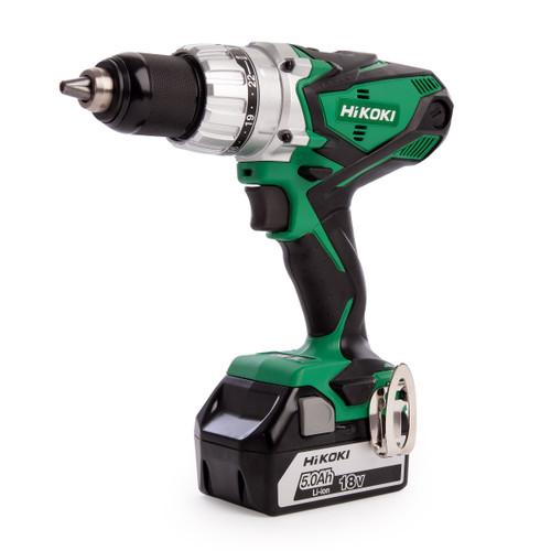 HiKOKI DV18DSDL 18V Cordless Combi Drill (2 x 5.0Ah Batteries) - 4