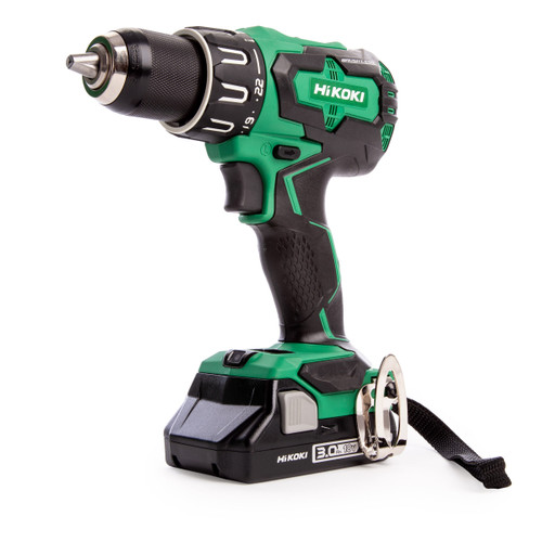 HiKOKI DV18DBFL2 18V Brushless Combi Drill (2 x 3.0Ah Batteries) - 4