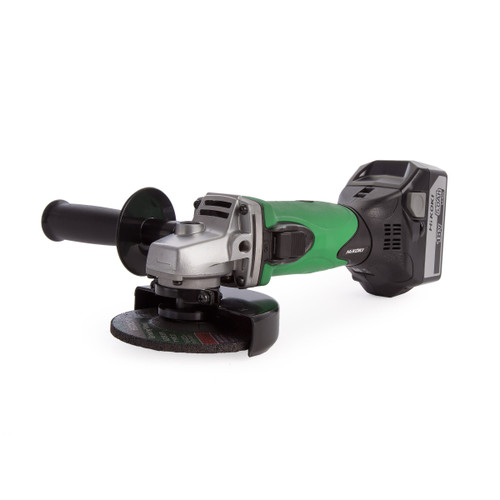 HiKOKI G18DSL/JJZ 18V Cordless Disc Grinder (2 x 5.0Ah Batteries) - 5
