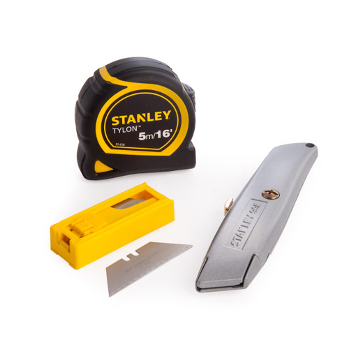 Stanley STHT4-10099 Knife Triple Promo Pack - 4