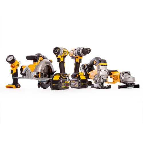 Dewalt DCK694T3 18V Brushless 6 Piece Kit with 3 x Flexvolt 6.0Ah Batteries, 2 x DS300 Toughsystem Kitboxes - 9
