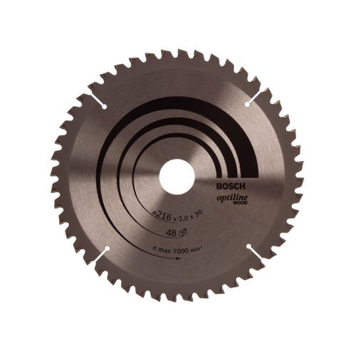 Bosch 2608640432 Circular Saw Blade for Mitre Cuts 216mm x 30mm x 48T - 1