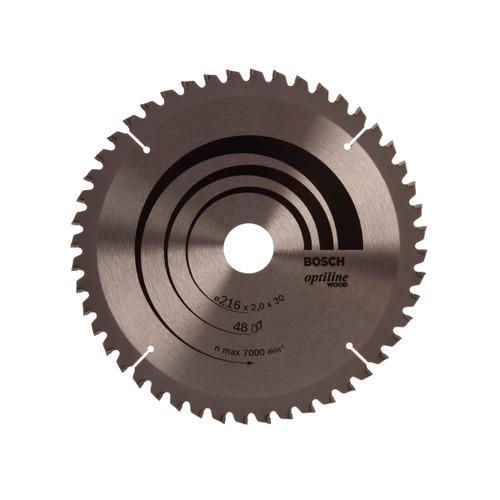 Bosch 2608640432 Circular Saw Blade for Mitre Cuts 216mm x 30mm x 48T - 1