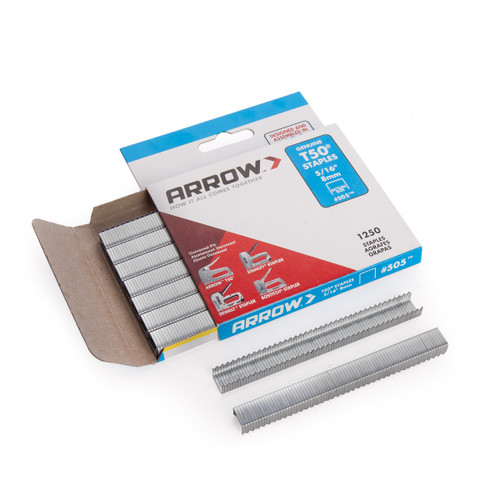Buy Arrow 50524 T50 Staples 8mm 5/16in ( Pack Of 1250) at Toolstop
