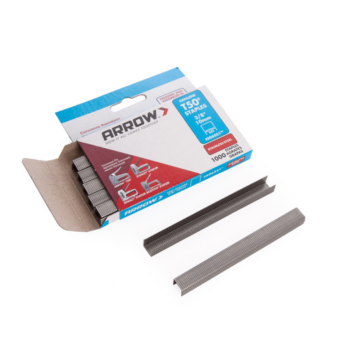 Arrow 506SS T50 Staples - Stainless Steel 10mm (Pack of 1000) - 1
