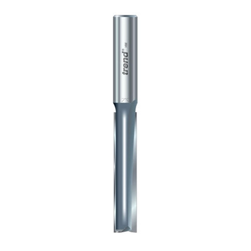 """Buy Trend 3/75X1/2TC Two Flute 1/2"""" Shank TCT 12mm x 63mm Cut at Toolstop"""