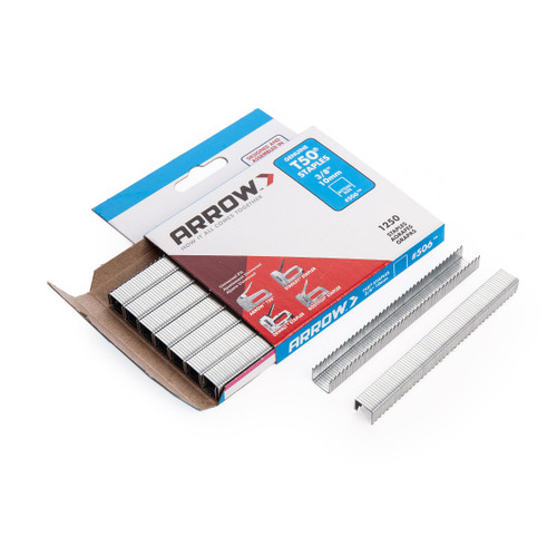 Arrow 50624 T50 Staples 10mm 3/8in (Pack Of 1250) - 1