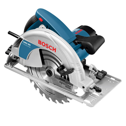 Bosch GKS 85 PRO Circular Saw 9 Inch / 235mm in L-Boxx with 2 Blades 110V - 5