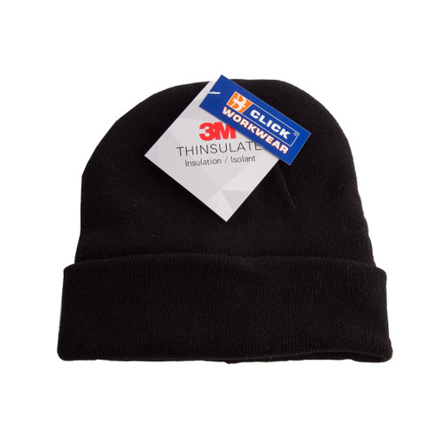 Buy Beeswift THHBL Thinsulate Beenie Hat (Black) at Toolstop