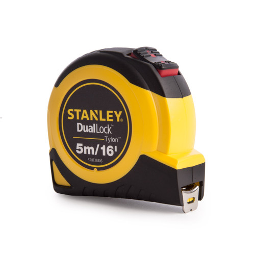 Stanley STHT36806-0 Tylon Dual Lock Tape Measure 5m / 16ft - 3