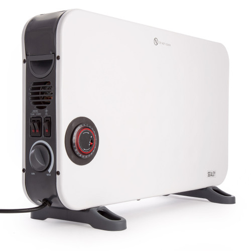 Sealey CD2013TT Convector Heater with Turbo and Timer 2000W 240V - 3