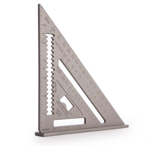 Johnson RAS-1B Professional Aluminium Rafter Angle Square 7in - 1