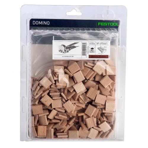 Buy Festool 495661 DOMINO, Beech D 4x20/450 BU at Toolstop