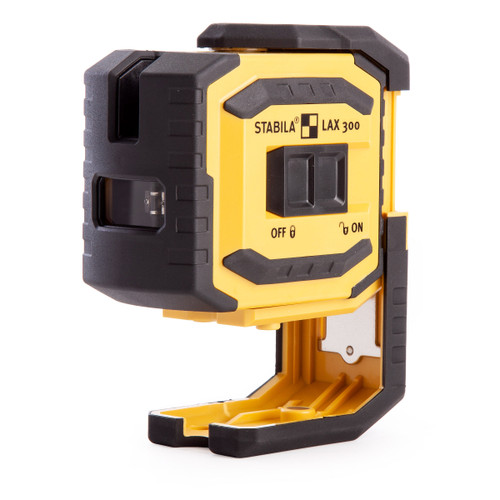 Stabila LAX300 Cross Line + Plumb Point Laser (18327) - 4