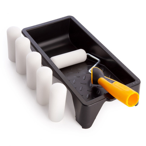 Coral 43401 Gloss Mini Roller Kit for Small Spaces (8 Piece) - 2