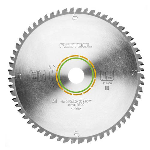 Festool 500124 Universal Saw Blade 216mm x 30mm x 36T - 1