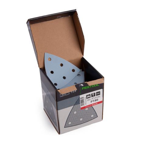 Festool 497396 Sandpaper STF V93/6 P180 GR/100 Granat - 3