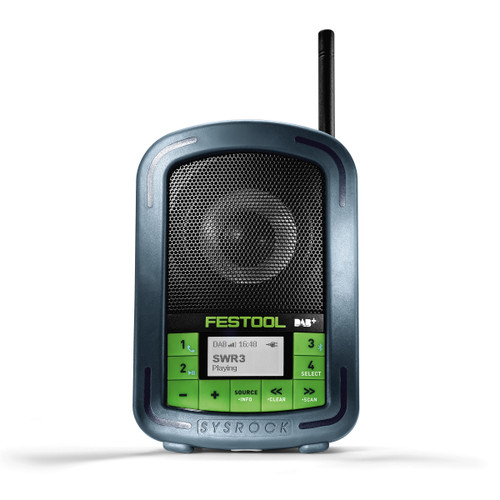 Festool 202112 Digital Radio BR10 DAB+ 240V SYSROCK - 3