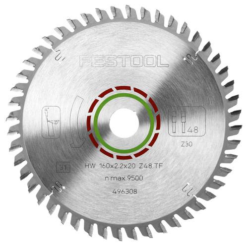 Festool 496308 Special Saw Blade 160mm x 20mm x 48T - 1
