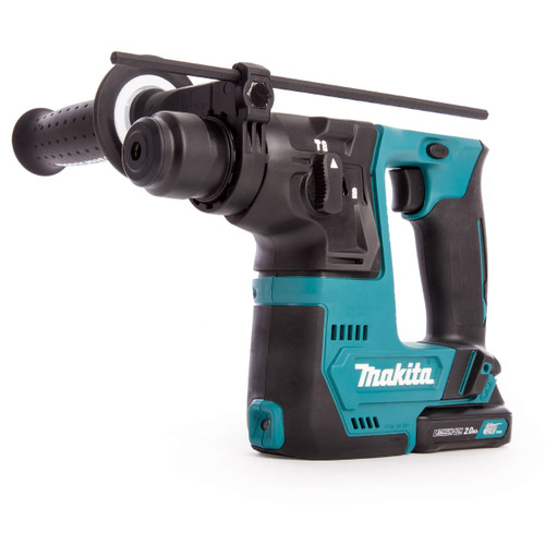 Makita HR140DWAE1 12Vmax Cordless Rotary Hammer 14mm (2 x 2.0Ah Batteries) with 64 Accessories  - 6