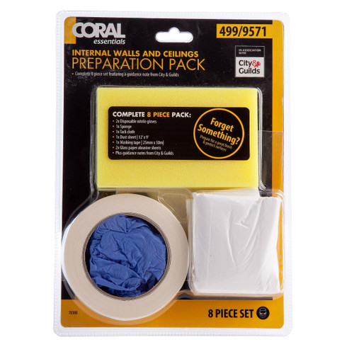 Buy Coral 70300 Internal Walls and Ceiling Pack (8 Piece) at Toolstop