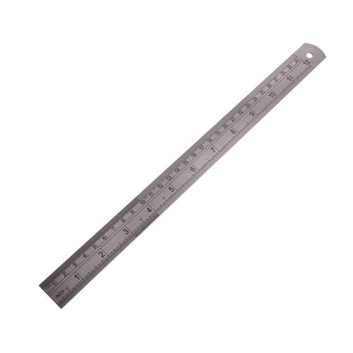 Fisher FR112ME Steel Rule (300mm / 12 Inch) - 2