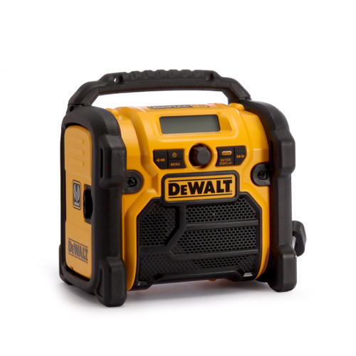 Dewalt DCR020 XR Compact Digital DAB Radio (10.8V,14.4V,18V Compatible) Body Only - 3