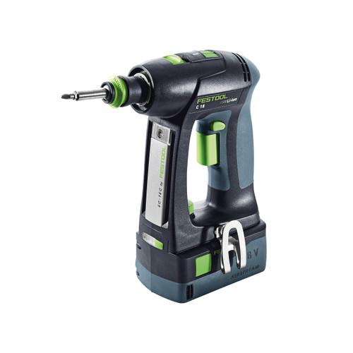 Festool 574737 Cordless Drill C 18 Li-Basic (Body Only) - 3