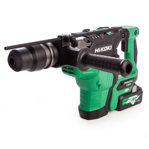 HiKOKI DH 36DMA 36V Multi-Volt Brushless SDS Max Rotary Hammer (2 x 4.0Ah Batteries) - 5