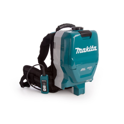 Makita DVC261ZX11 36V Brushless Backpack Vacuum Cleaner LXT (Body Only) Accepts 2 x 18V Batteries - 4