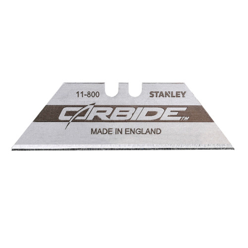 Stanley 2-11-800 Carbide Knife Blades (Pack of 10) - 1