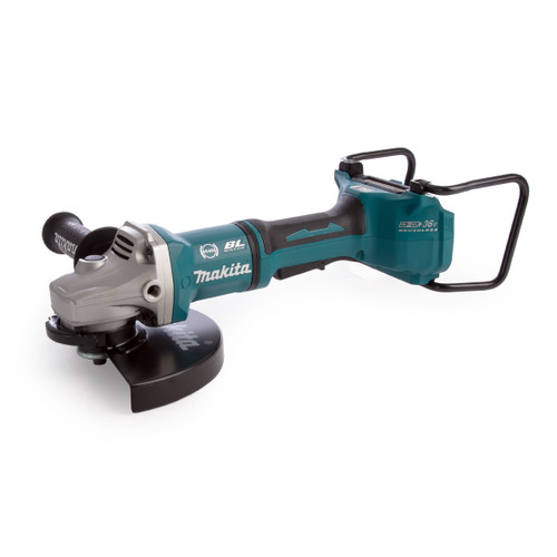 Makita DGA901ZUX2 36V LXT Brushless Angle Grinder 230mm (Body Only) Accepts 2 x 18V Batteries - 3