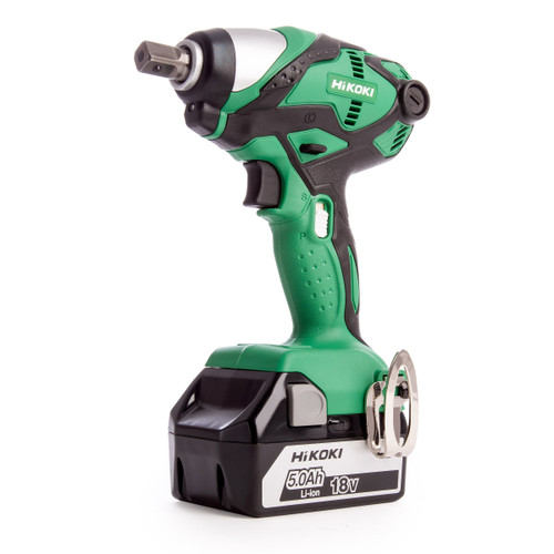 HiKOKI WR 18DSDL 18V Impact Wrench (2 x 5.0Ah Batteries) - 4
