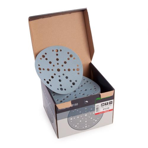 Festool 575167 Sanding discs STF D150/48 P220 GR/100 Granat - 2