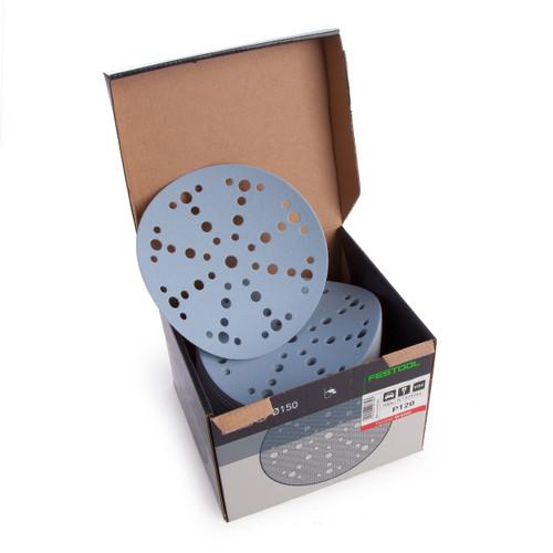 Festool 575164 Sanding Discs STF D150/48 P120 GR/100 Granat - 2