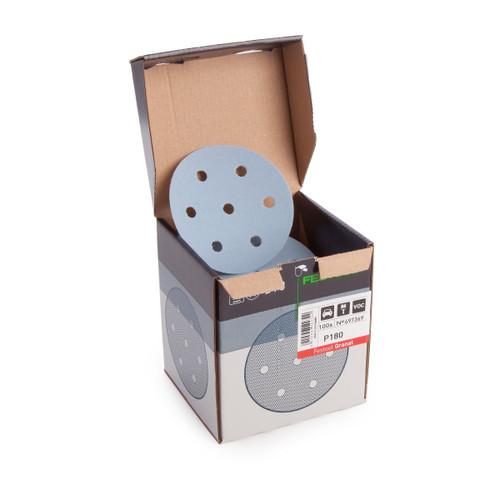 Festool 497369 StickFix Sanding discs STF D90/6 P180 GR/100 Granat - 2