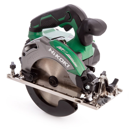 HiKOKI C 3606DA 36V Multi-Volt Brushless Circular Saw 165mm (2 x 2.5Ah Batteries) - 6
