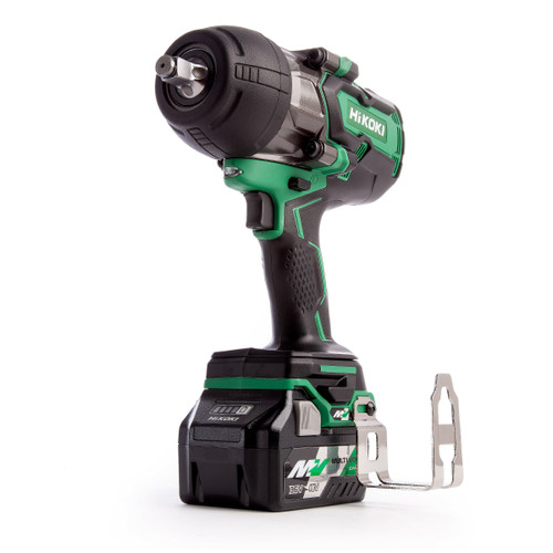 HiKOKI WR 36DB 36V Multi-Volt Brushless Impact Wrench 1/2in Drive (2 x 2.5Ah Batteries)