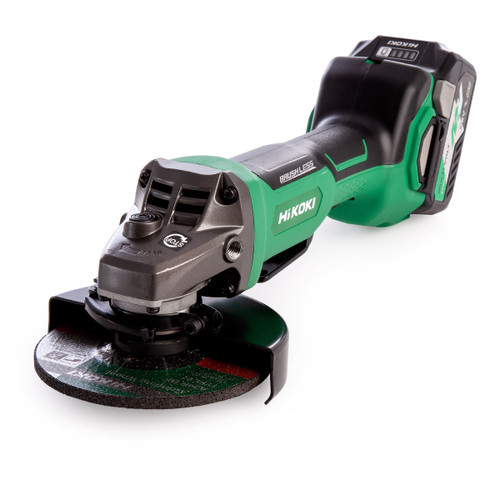 HiKOKI G 3613DB 36V Multi-Volt Brushless Grinder 125mm (2 x 2.5Ah Batteries) - 6