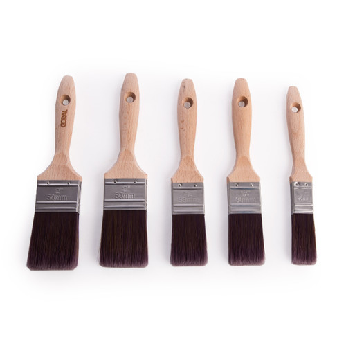 Coral 31707 Aspire Flat Paint Brush Set (5 Piece) - 2