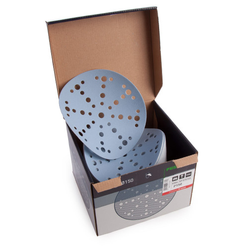 Festool 575165 Granat Sanding Discs STF 150 Grit (Box of 100) - 2