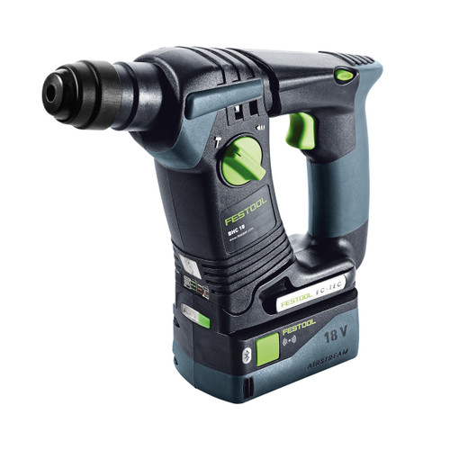 Festool 575698 18V SDS Plus Hammer Drill BHC (2 x 5.2Ah Batteries) - 5