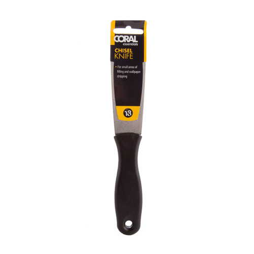 Buy Coral 53300 Essentials Carbon Steel Chisel Knife at Toolstop