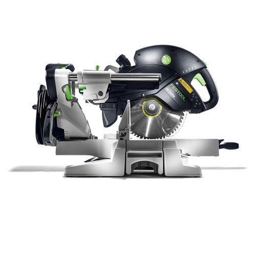 Festool 575316 Sliding Compound Mitre Saw 260mm KS 120 Set-UG GB 110V KAPEX - 5