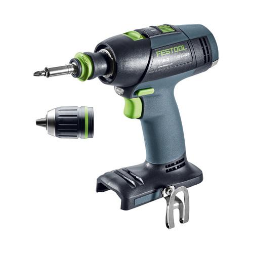 Festool 574763 18V T-18 Cordless Drill Li-Basic (Body Only) - 3