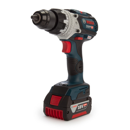 Bosch GSB 18V-85 C Robust Series Heavy Duty Brushless Combi Drill (2 x 5.0Ah Batteries) - 2