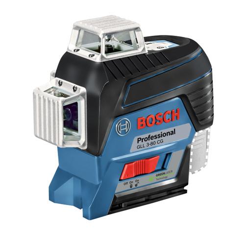 Bosch GLL 3-80 CG 12V Professional Green Line Laser (1 x 2.0Ah Battery) - 5