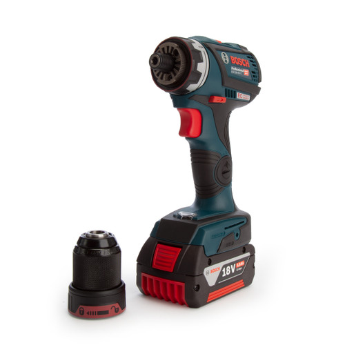 Bosch GSR 18V-60 FC Professional FlexiClick Heavy Duty Drill Driver (2 x 5.0Ah Batteries) - 2